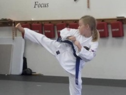 Claire King Tiger Martial Arts and Karate